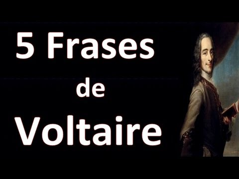 5 Frases De Voltaire Youtube