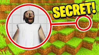 Minecraft : We Found GRANNYS SECRET BASE! (Ps3/Xbox360/PS4/XboxOne/PE/MCPE)