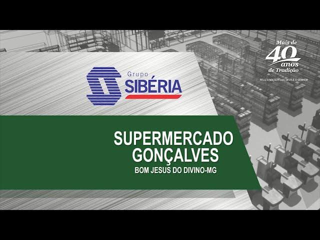 Loja Inaugurada - Supermercado Gonçalves - Bom Jesus do Divino/MG