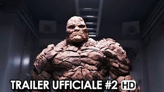 FANTASTIC 4 - I FANTASTICI QUATTRO Trailer Ufficiale Italiano #2 (2015) Movie HD