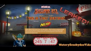 ROBLOX - HALLOWEEN CLUES LEAKED? + DATE ON THE OFFICIAL EVENT!