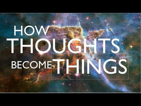 Thoughts Are Things : What You Think About, You Bring About