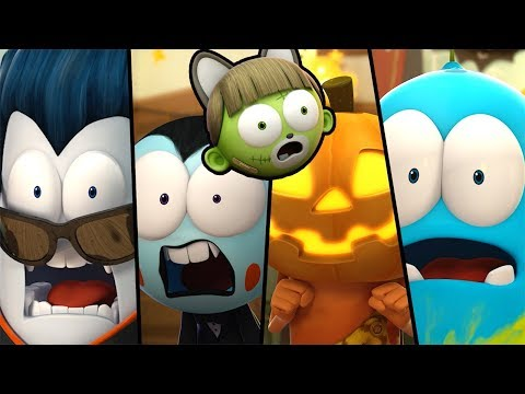 Funny Animated Cartoon   Spookiz   💀👻  Halloween Surprise 👻💀  스푸키즈   Cartoon For Children