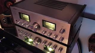 Amplifier integrated sony TA-F4A play rock vintage audio crazy eugene