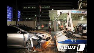 米国大使館に車で突っ込んだ韓国政府の職員「正気ではなかった」=韓国 (6/8)