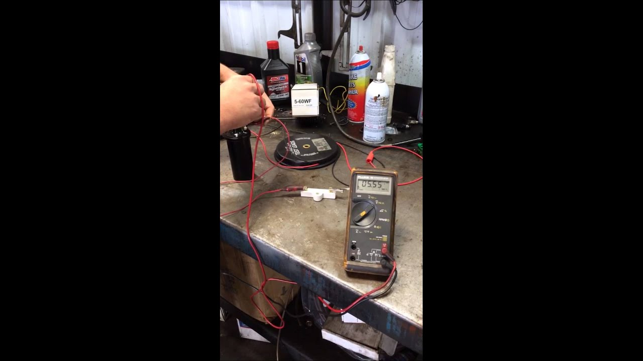 Demonstration On Voltage Drop Across A Ballast Resistor Youtube Ford 8n Tractor Wiring Diagram