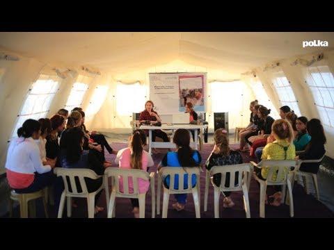 Former les femmes yézidies à la photographie, l'initiative de Shayda Hessami dans le camp de Dohuk