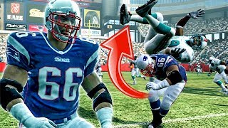 WILEY FACES HALL OF FAMER JASON TAYLOR! - Madden 09 Superstar Mode | Ep.4