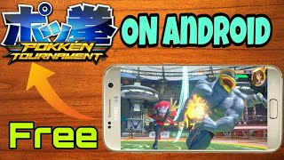 How to Download and  install Pokken tournament Apk+data MOD on android with Android Gameplay!