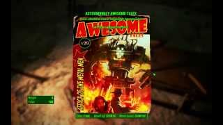 Astoundingly Awesome Tales Magazine - Dunwich Borers - Fallout 4