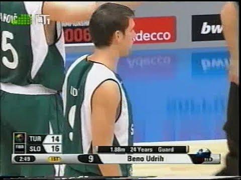 2006 FIBA World Championship round of 16 Turkey-Slovenia