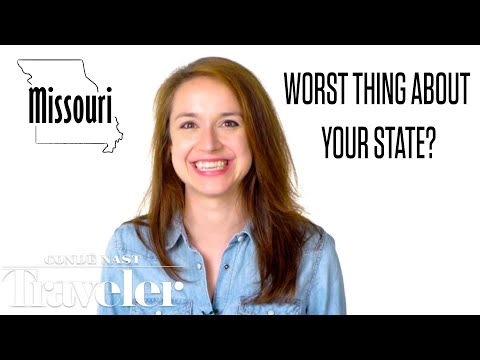 50 People Tell Us the Worst Thing About Their State | Culturally Speaking | Cond Nast Traveler