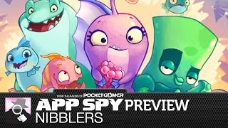 CANDY CRUSH MEETS ANGRY BIRDS   Nibblers gameplay preview
