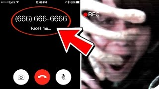What happens when you FaceTime (666) 666-666? (Cursed Phone Number)
