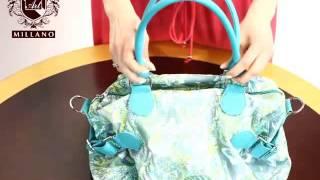 джинсовая сумка(Модель T18409A - купить в интернет магазине http://artmillano.ua Заказать данный товар можно, перейдя по ссылке: http://artmillan..., 2014-03-20T16:05:39.000Z)