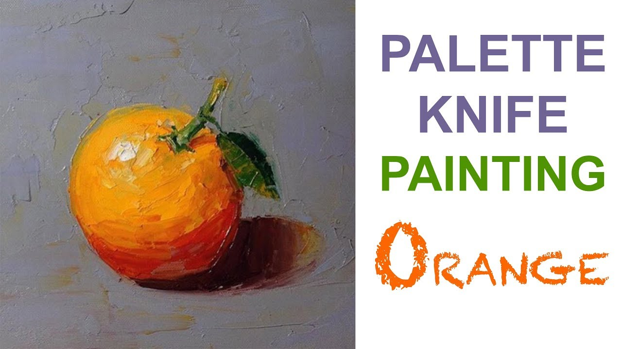 Expressive Style Using Palette Knife