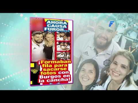 Rodrigo Burgos recibió una dedicatoria