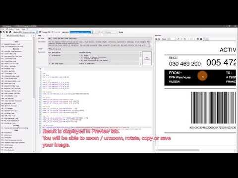ZPLDesigner - Using labelary.com as default ZPL viewer