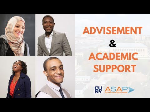 CUNY ASAP - Advisement And Academic Support