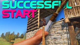 A SUCCESSFUL START! - Rust