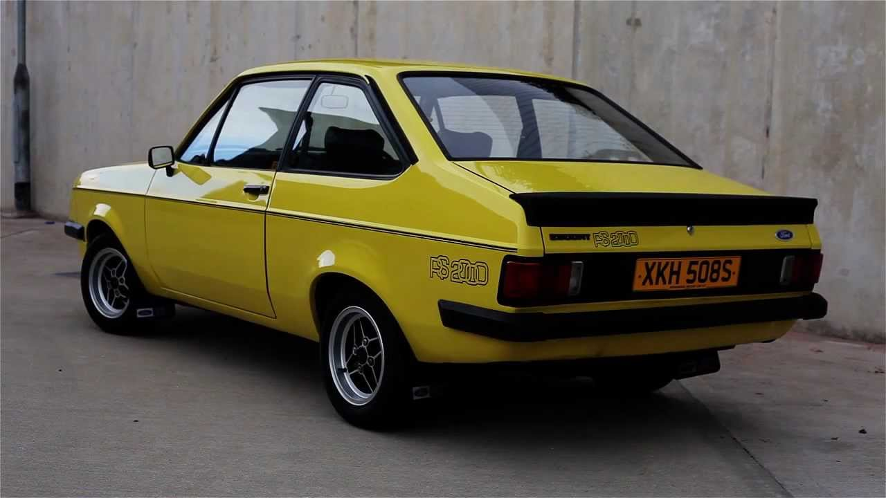 Ford Escort RS2000 - 1978-cloud9cars-SOLD - YouTube
