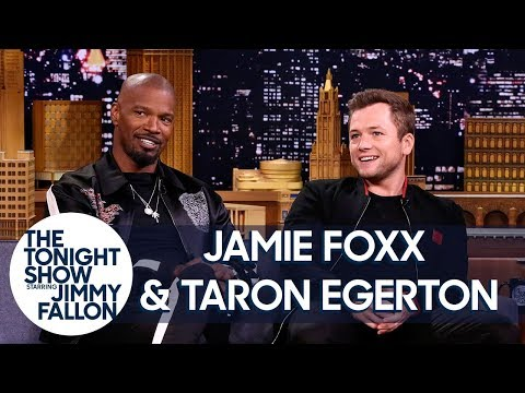 Jamie Foxx & Taron Egerton Talk About Robin Hood en streaming