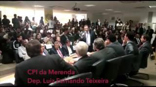 CPI DA MERENDA: Dep. Luiz Fernando Teixeira