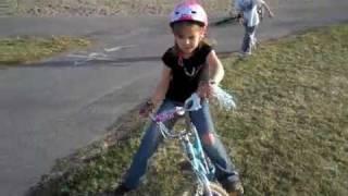 Ashleys First Bike Lesson