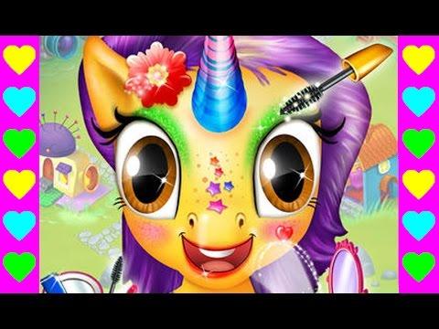 Мультик про маленькую пони. Детские мультфильмы про уход за животными. Интересный мультик для детей.