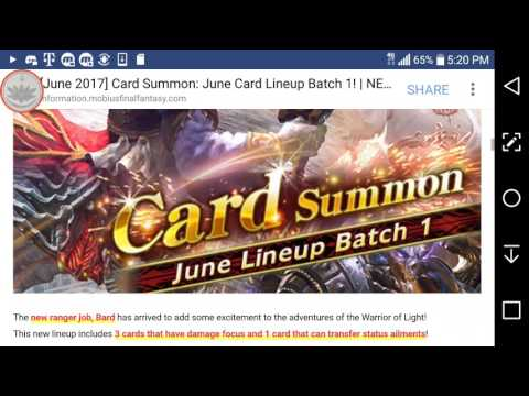 Mobius FF: June Calender review and detailed info