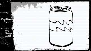 How to draw Soda Can
