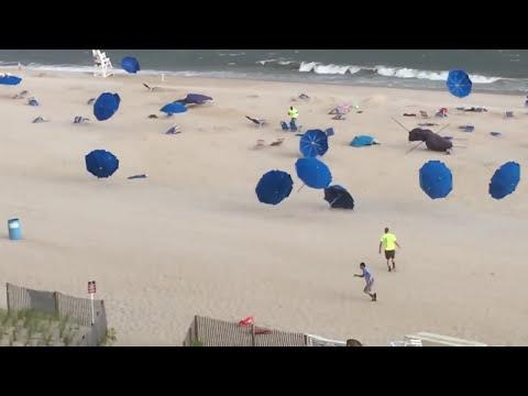 Attack Of The Killer Beach Umbrellas