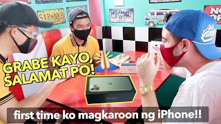SUBSCRIBER Surprise Me An iPHONE 11 😱 FILIPINOS Giving Back To Me 🇵🇭(Emotional Reaction)