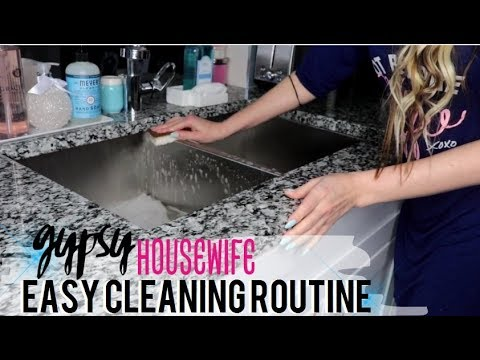 GYPSY HOUSEWIFE CLEANING ROUTINE MARCH 2019 *NEW*