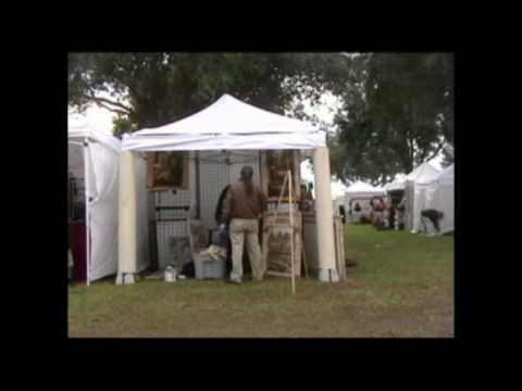 & Art Festival Setup - YouTube