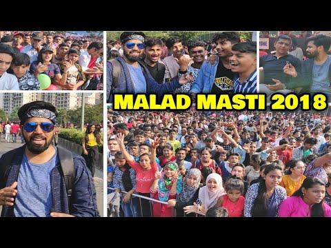 Malad Masti 2018   Mumbai's Biggest Street Fair Trip With Admin Ravi   Aslam Shaikh Initiative