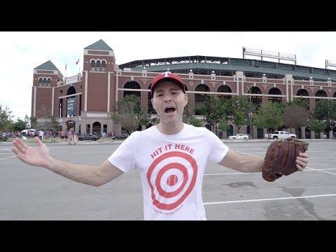 FINAL MLB GAME EVER At Globe Life Park In Arlington, TX