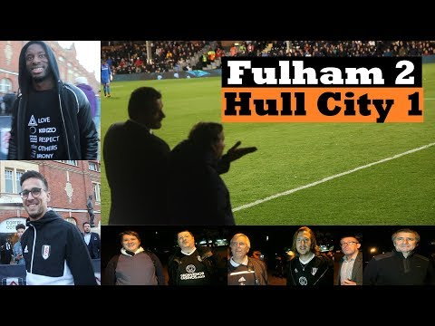 Fulham 2 Hull City 1 | scruffy three points | championship football 2017-18