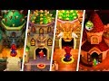 Evolution of Final Castles in New Super Mario Bros. Games (2006 - 2017)
