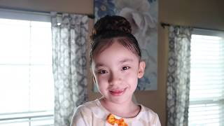 Easy Bun Hair Tutorial With Braid//FAMILY AFFAIR//2019