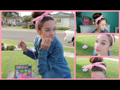 Easter eye & lip makeup tutorial 2015 | kaylah arnae ♡ youtube.