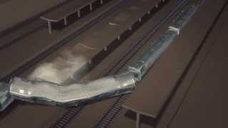 Track fault possible cause of France train derailment