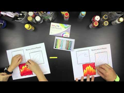 How To Blend Oil Pastels