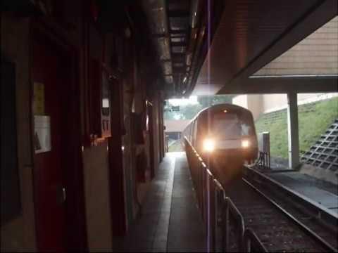 North South Line - NS17 Bishan to NS15 Yio Chu Kang (Train Fault)