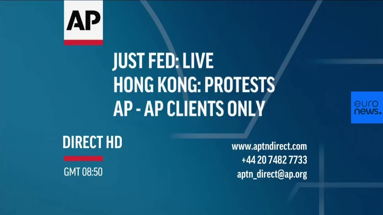 France 24:Live | Hong Kong protest forces delay to extradition bill debate