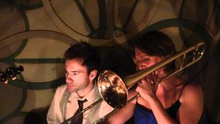 "Baby Soda Jazz Band at St. Mazie Bar - Brooklyn, NY - ""Ida Sweet as Apple Cider"""