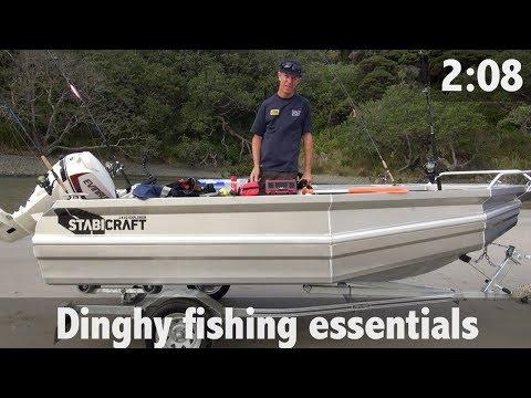 DINGHY FISHING ESSENTIALS