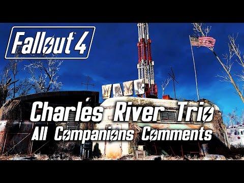 "Fallout 4 - ""Charles River Trio"" Radio - All Companions Comments"