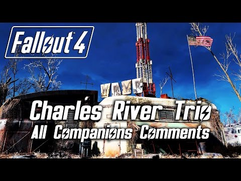 "Fallout 4 - ""Charles River Trio"" Radio - All Companions Comments"