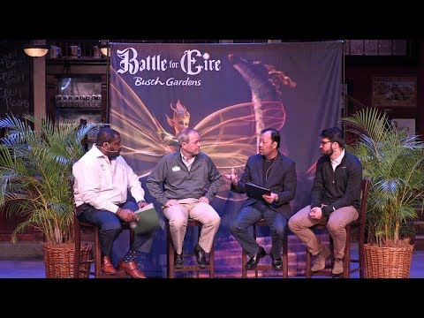 Battle For Eire new-for-2018 at Busch Gardens Williamsburg expert panel
